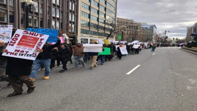 Photo of Anti-CAA protests in New York, Washington