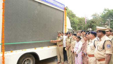 Photo of CP Mahesh Bhagwat inaugurates AV VAN and Gym at CAR headquarters