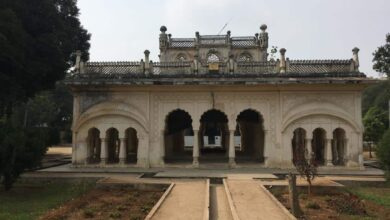Photo of Mausoleum of Mah Luqa Bai (Umrao Jaan of Hyd) lies in desolation