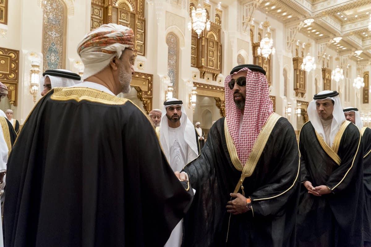 सुल्तान की मृत्यु के बाद ओमान में जुटे कई देशों के गणमान्य व्यक्ति 4