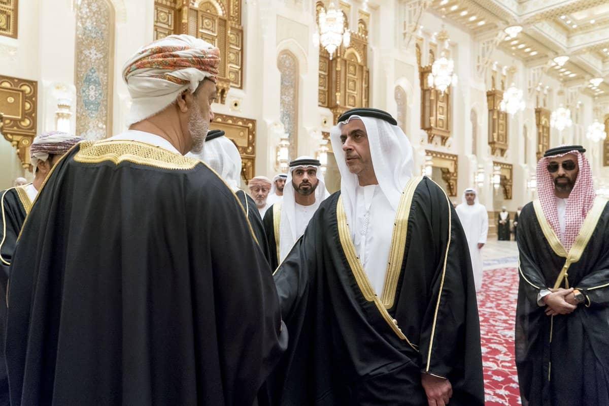 सुल्तान की मृत्यु के बाद ओमान में जुटे कई देशों के गणमान्य व्यक्ति 3