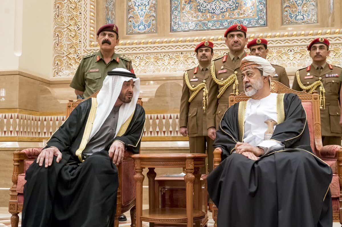सुल्तान की मृत्यु के बाद ओमान में जुटे कई देशों के गणमान्य व्यक्ति 2