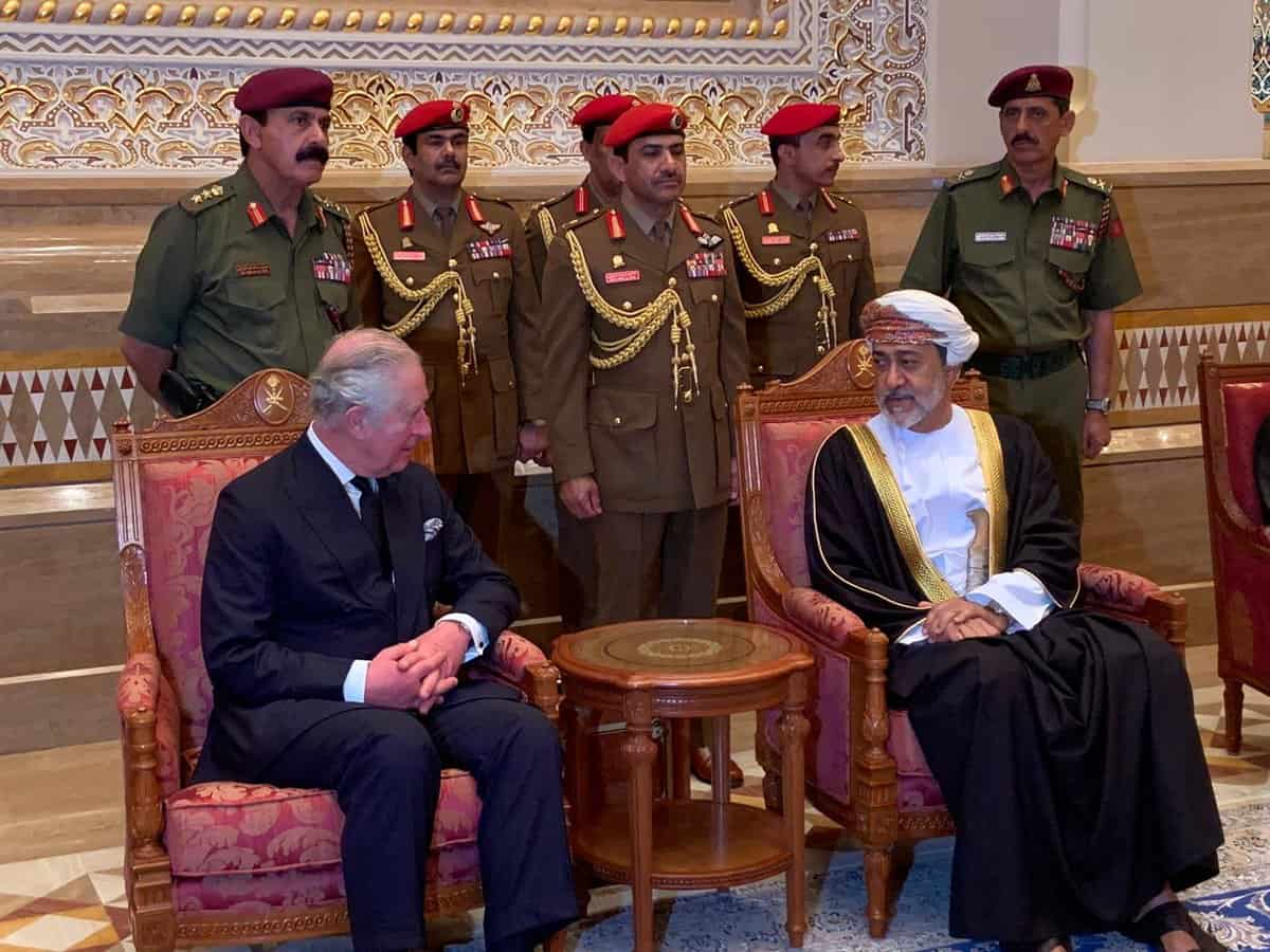 सुल्तान की मृत्यु के बाद ओमान में जुटे कई देशों के गणमान्य व्यक्ति 1