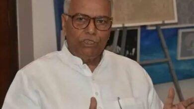 Photo of Can't let Mahatma be killed again, says Yashwant Sinha