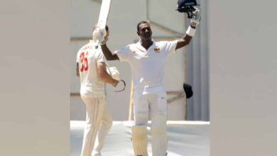 Photo of Zimbabwe trails Sri Lanka by 127 runs on day four of first Test