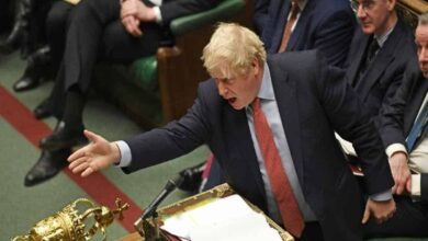 Photo of Boris Johnson hails 'new chapter' as he signs EU divorce treaty