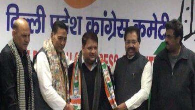 Photo of AAP MLA Adarsh Shashtri joins Congress