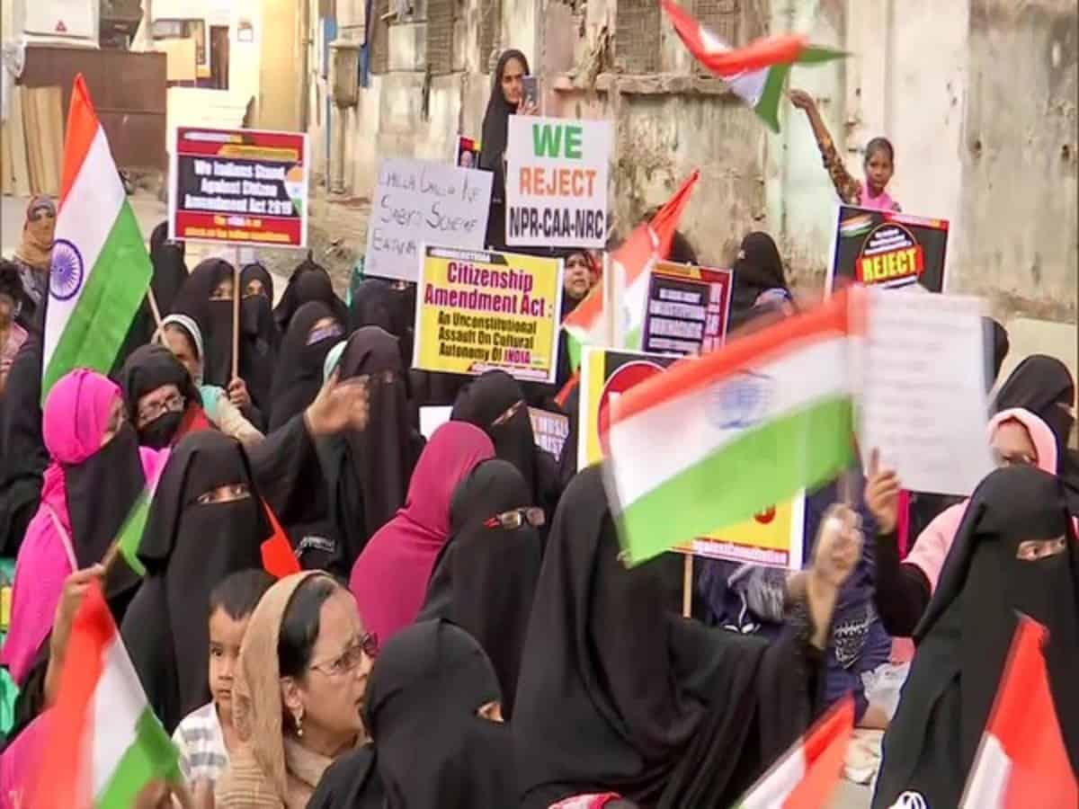 Protest held against CAA, NRC, NPR in Mumbai