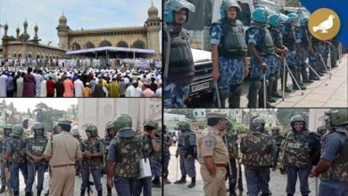 Photo of CAA Protest: Friday Prayers Pass Off Peacefully in Hyderabad