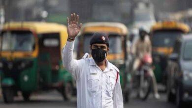 Photo of Delhi gasps for breath as AQI crosses 370 mark