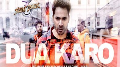Photo of Street Dancer's song 'Dua Karo' out