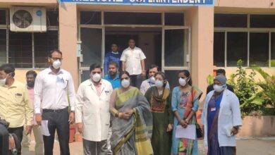 Photo of Fever, Gandhi hospitals identified for Coronavirus patients