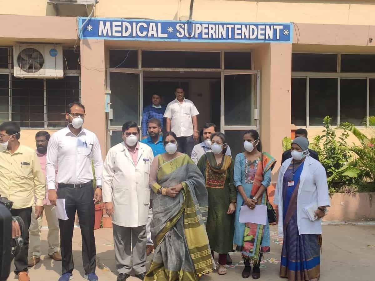 Fever, Gandhi hospitals identified for Coronavirus patients