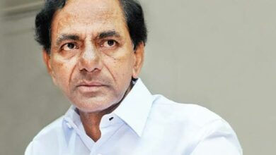 Photo of KCR  'absconded' from poll campaign says Congress