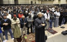 A du'a for India at the RIS conference in Toronto
