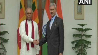 Photo of Sri Lankan Foreign Minister meets Jaishankar at Hyderabad House