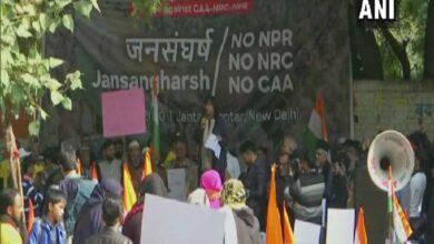 Photo of Protest at Delhi's Jantar Mantar against NPR, CAA and NRC