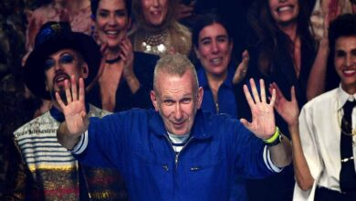 Photo of Fashion legend Jean-Paul Gaultier bows out in style
