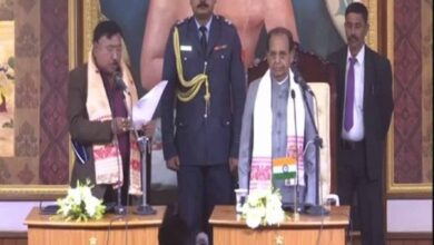 Photo of Jogen Mohan, Sanjoy Kishan sworn-in as ministers in Assam govt