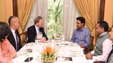 Photo of Boeing president Michel Arther meets Telangana Minister KTR