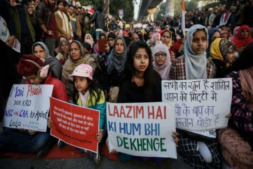 Urdu poetry in anti-CAA movement