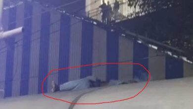 Photo of Man travelling on train roof dies of electrocution