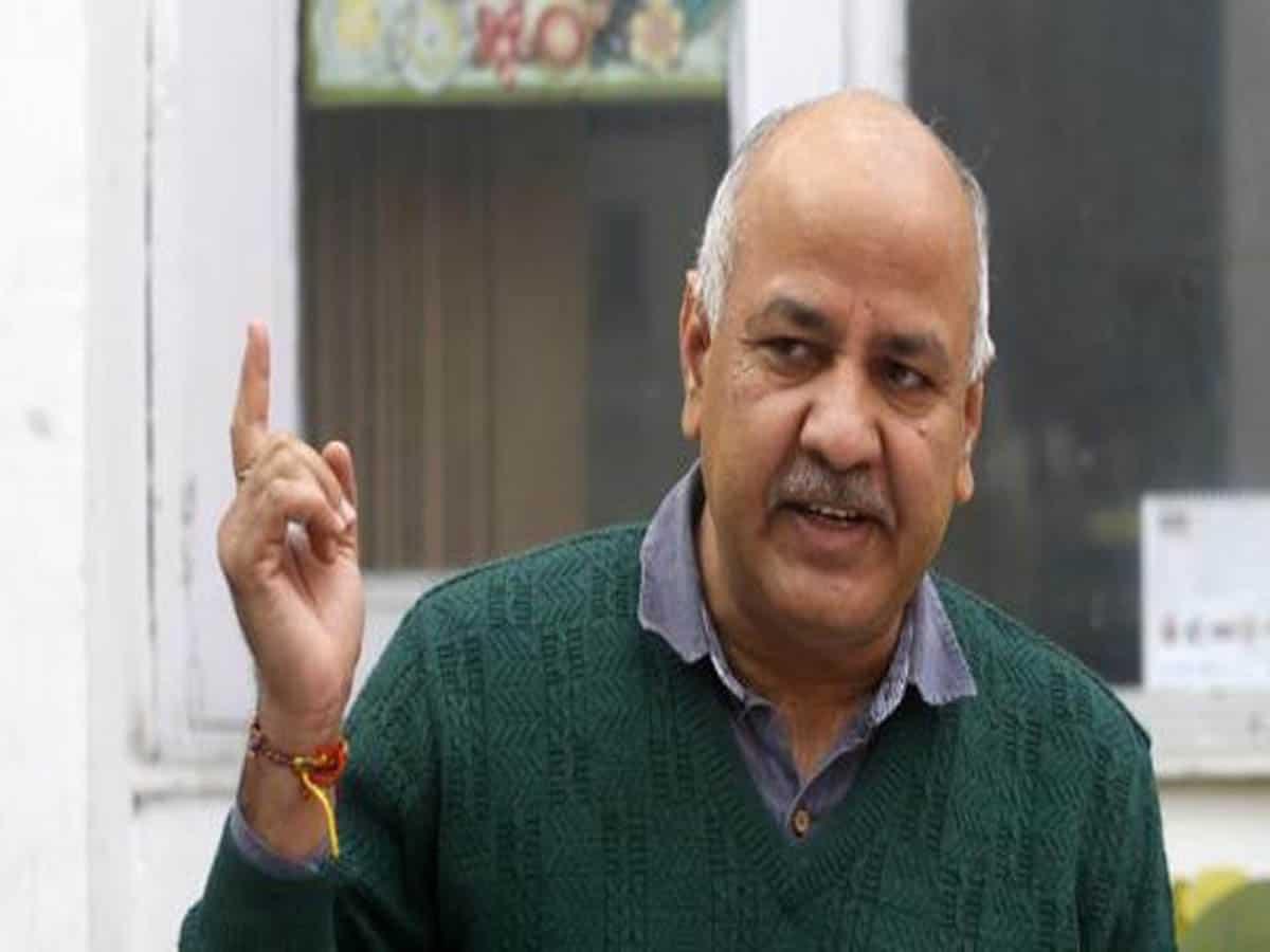 BJP MPs gave fraud report on Delhi schools: Sisodia