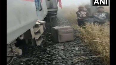 Photo of 20 injured as train derails in Cuttack
