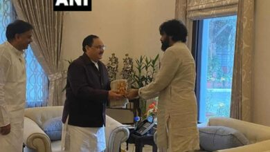 Photo of Jana Sena chief Pawan Kalyan meets JP Nadda in Delhi