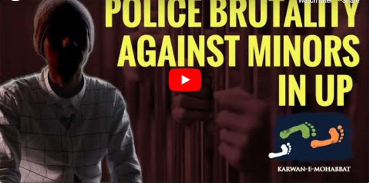 Police brutality in UP