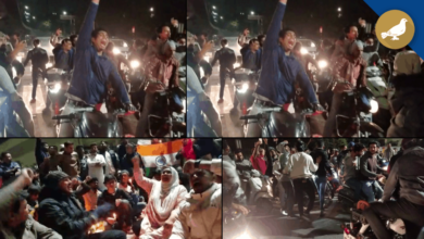 Photo of Hyderabad: Late night Protest against Masked Mob attack at JNU