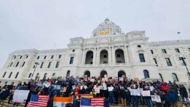 Photo of USA: Minnesota hold protest meet against CAA