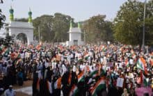 Tiranga Rally in Hyderabad on Friday