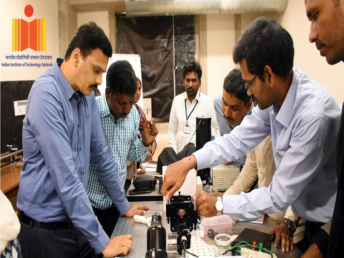 IIT-Hyderabad conducts 5-day workshop for Jr. Lectures