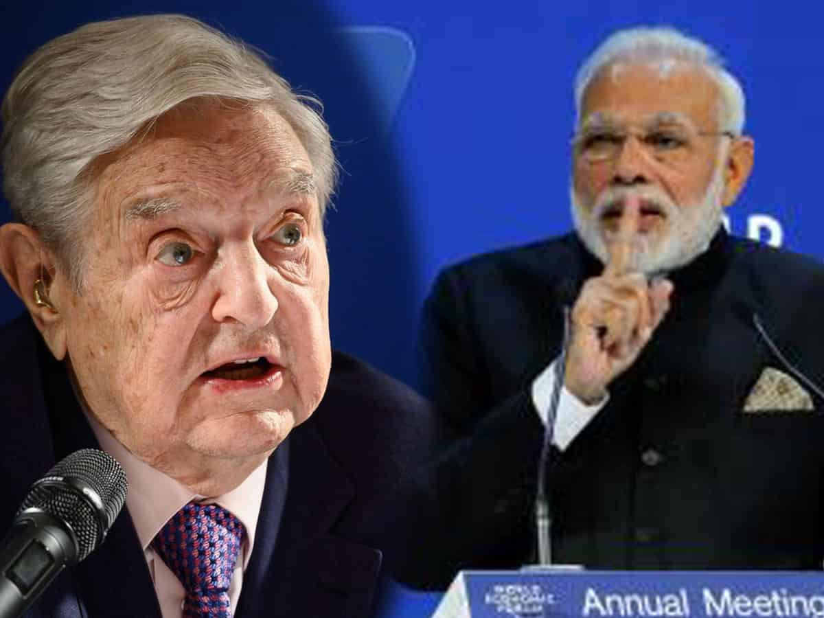 Davos meet: Modi making India Hindu nation, says George Soros