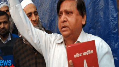 Photo of CAA: We are with Muslims, says Christian at Shaheen Bagh