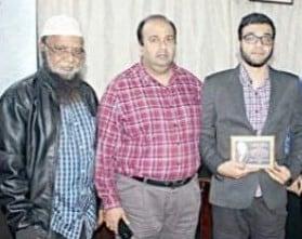 Photo of Meet Hyd born Salahuddin, PhD scholar of Mississippi University