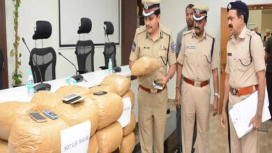 Photo of Ganja smuggling racket busted in Hyderabad