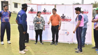 Photo of Over 160 doctors take part in mega cricket league