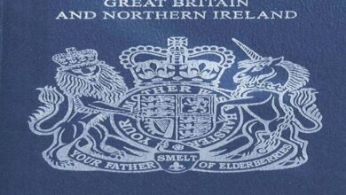 Photo of UK to issue blue passports after decades
