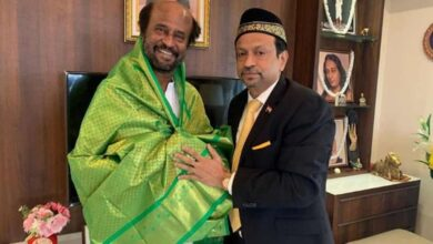 Photo of Indian Hajj Association President meets Rajinikanth in Chennai