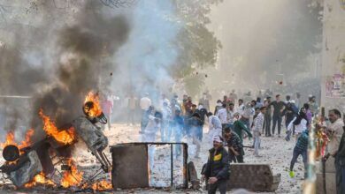 Photo of Delhi riots: Court dismisses bail plea of man in IB officer murder case