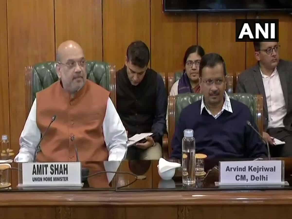 Delhi riots: Amit Shah holds meeting with LG and Kejriwal