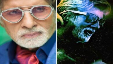 Photo of Amitabh Bachchan dons quirky avatars in unique glasses