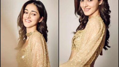 Photo of Ananya Panday shoots for 23 hours non-stop
