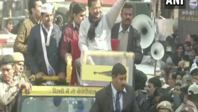 Photo of Chief Minister Arvind Kejriwal holds roadshow in Delhi's Dwarka
