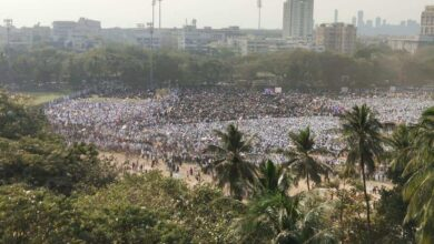 Photo of Maha morcha against CAA-NRC-NPR at Mumbai's Azad Maidan