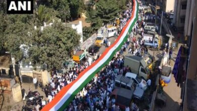 Photo of Tricolour march conducted in Coimbatore against CAA, NRC, NPR
