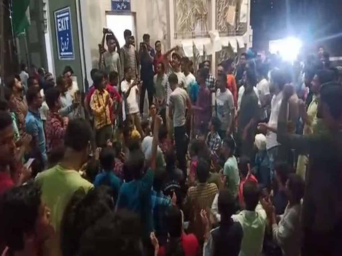 Joint protest held in Hyderabad against Delhi violence over CAA