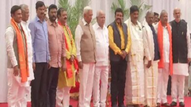 Photo of Newly inducted ministers in K'taka cabinet allocated portfolios